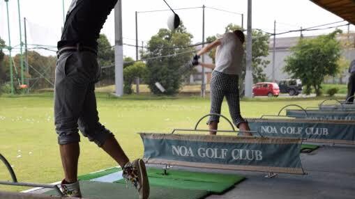 打ちっぱなしゴルフ